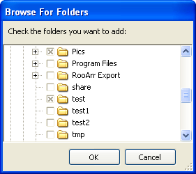 Multiple Folder Selection Dialog