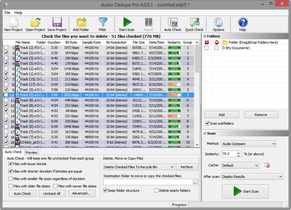 Find Duplicate Mp3