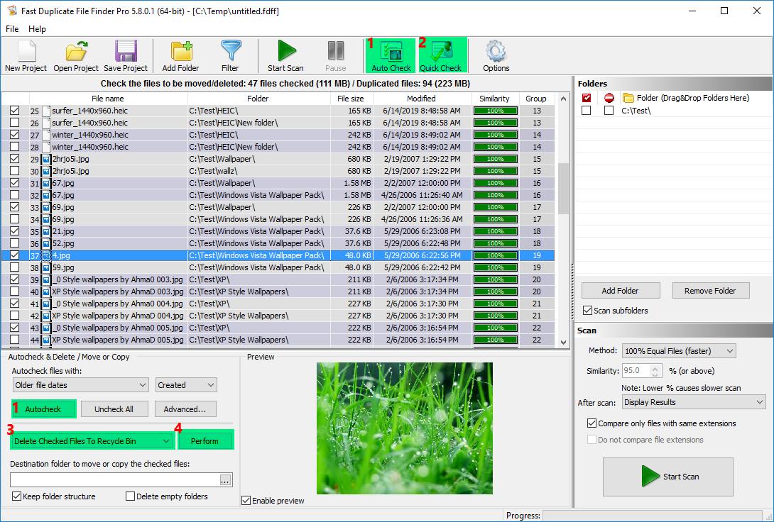 fast duplicate file finder free download