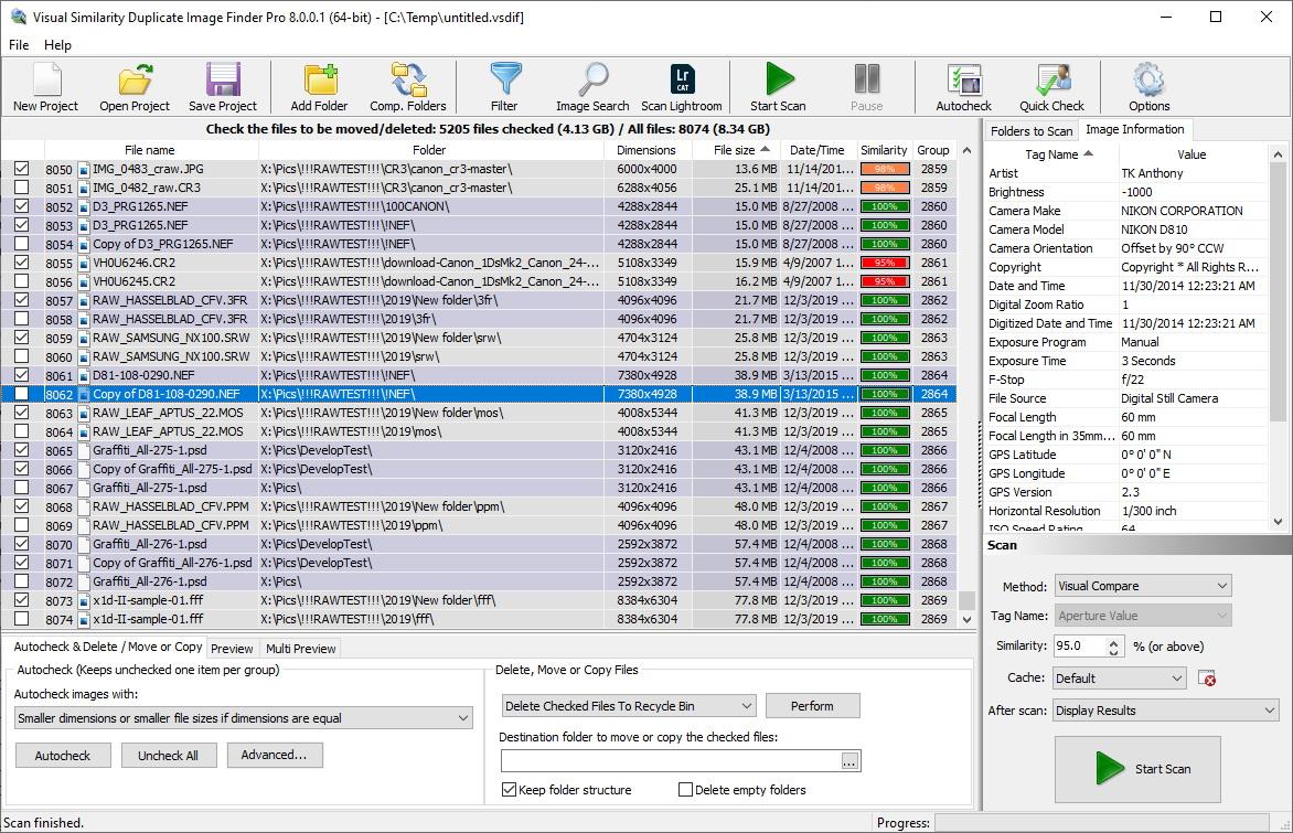 Windows 7 Visual Similarity Duplicate Image Finder 7.9.0.3 full